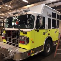Our first look at the new Engine 3 as it is being built by Custom Fire